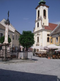 Reconstruction of historic town centre of Szentendre with RECYFIX HICAP G